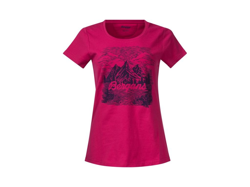 MOUNTAIN VIEW W TEE  BOUGAINVILLEA/VIOLA