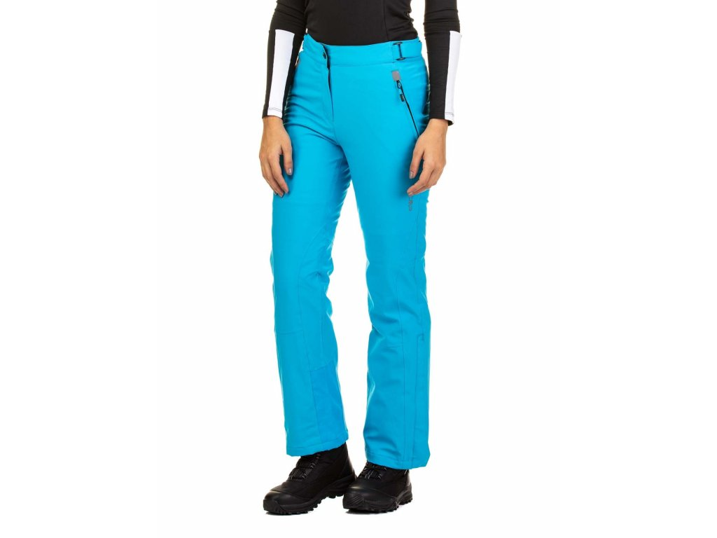WOMAN PANT  CARIBBEAN BLUE