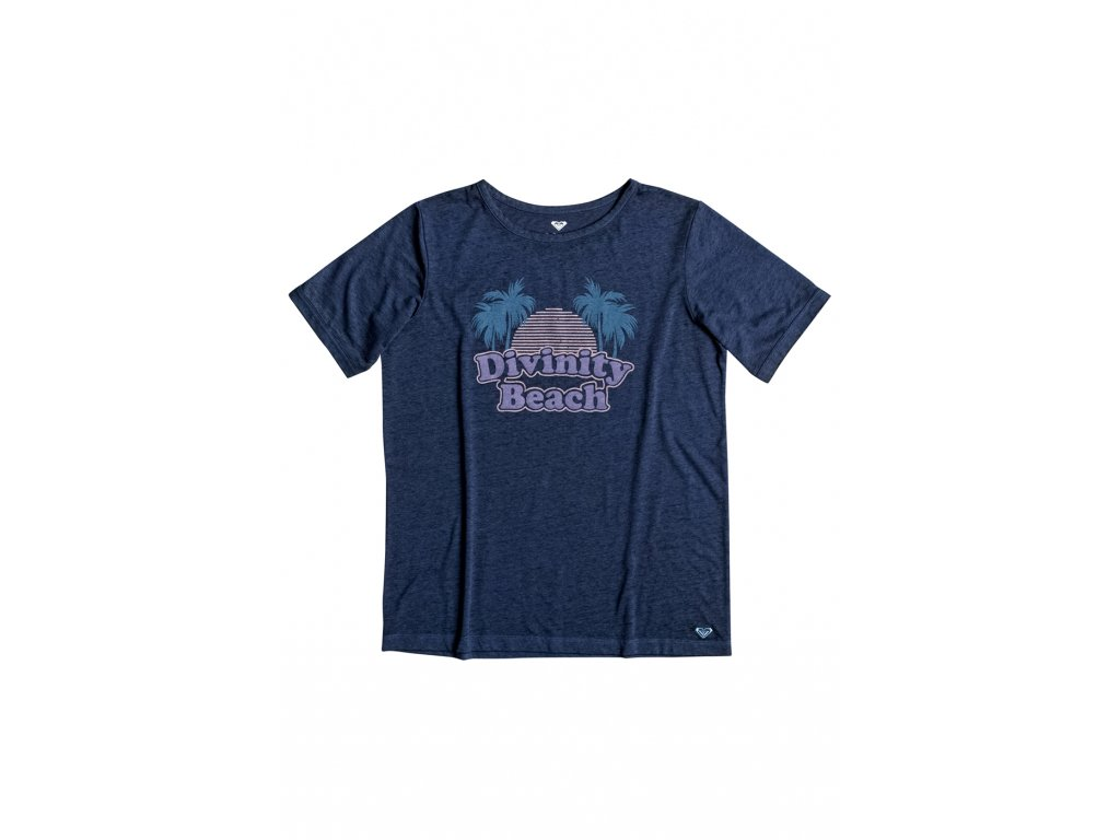 ERJZT03814 T-Shirt  BLUE DEPTHS