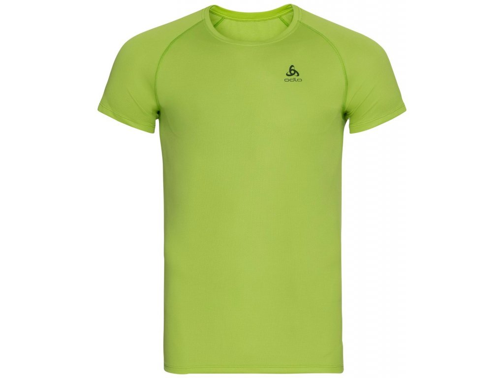 BL TOP Crew neck s/s ACTIVE F-DRY LIGHT ECO  macaw green