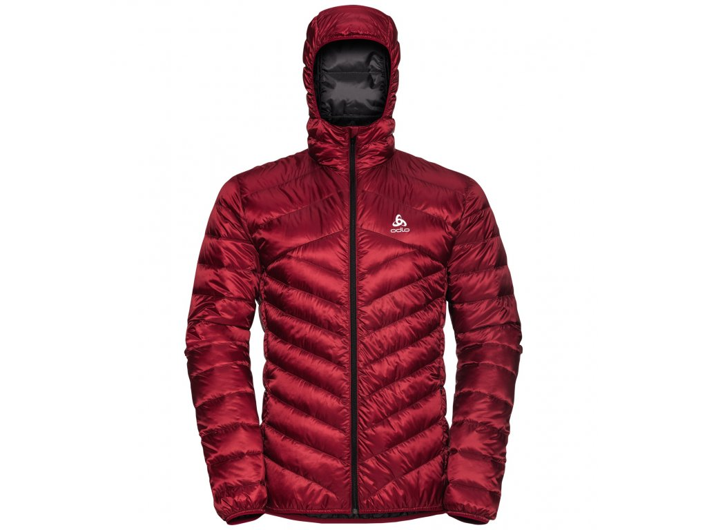 Jacket hoody COCOON  jester red