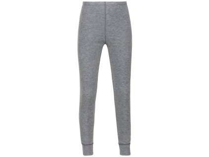 BL Bottom long ACTIVE WARM KIDS  grey melange