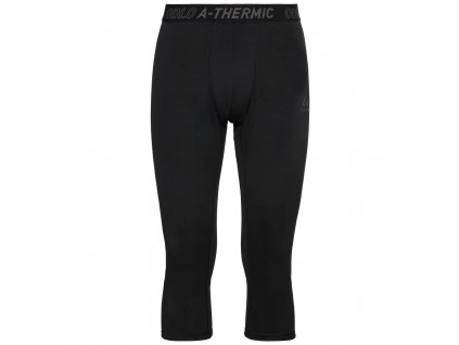 BL Bottom 3/4 ACTIVE THERMIC  black melange