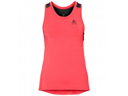 BL TOP Crew neck Singlet Ceramicool  fiery coral - black
