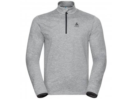 Midlayer 1/2 zip ALAGNA  grey melange