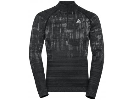 Midlayer 1/2 zip BLACKCOMB  black