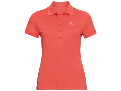 Polo shirt s/s CONCORD  hot coral