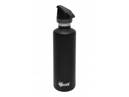 600ml Active Insulated Bottle -Matte Black  Matte Black