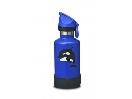400ml Insulated Kids Bottle - Dolphin  Dolphin