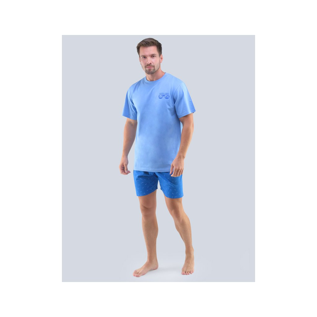 Pánské krátké pyžamo Gina 79094