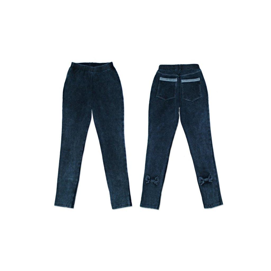 detske leginy jeans masla 3540