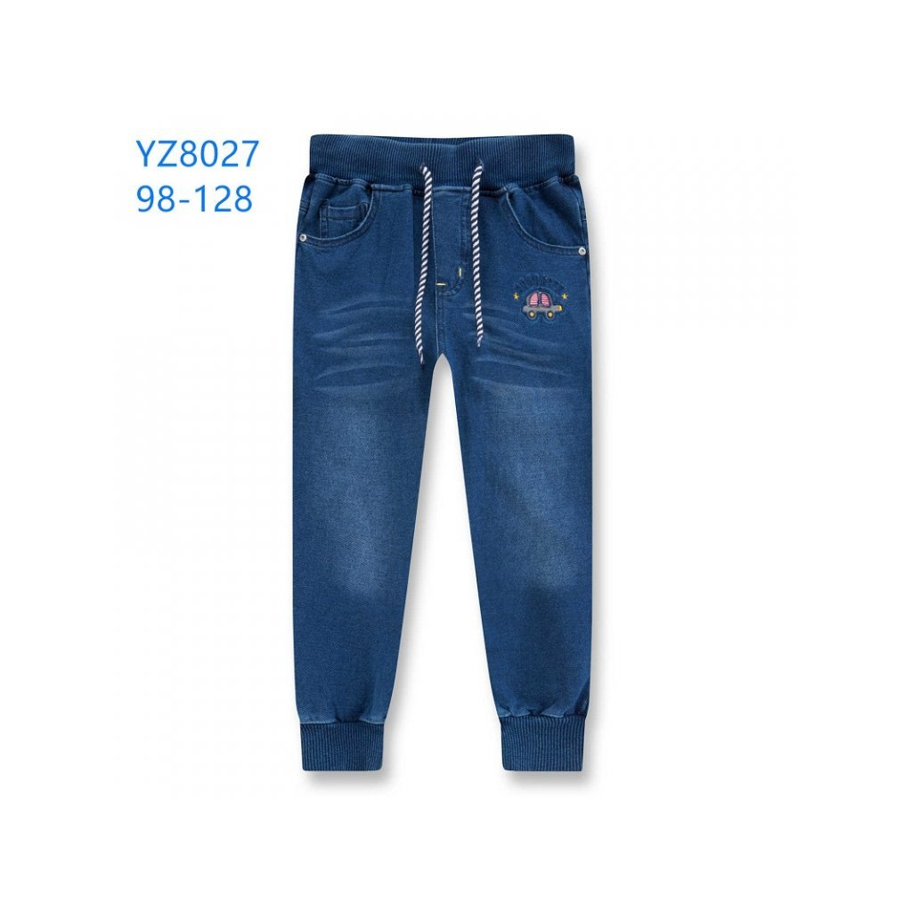 Kalhoty riflové chlapecké