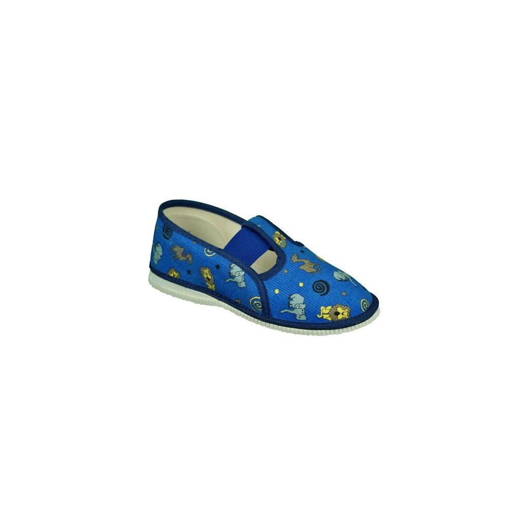 bačkůrky na gumičku modré 555-1