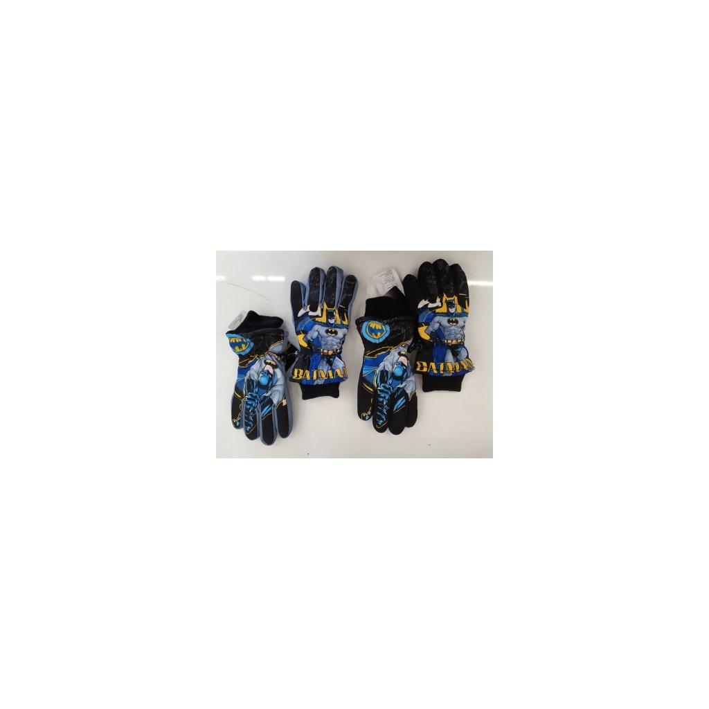 Chlapecké prstové rukavice BATMAN (vel.7/8-11/12let)