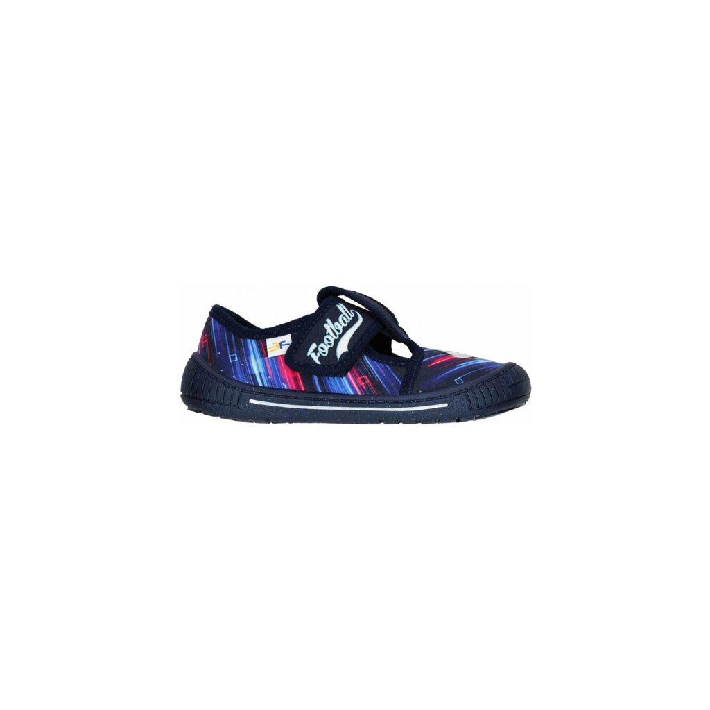 0106718 3f 3sk321 detska domaci obuv modra 510