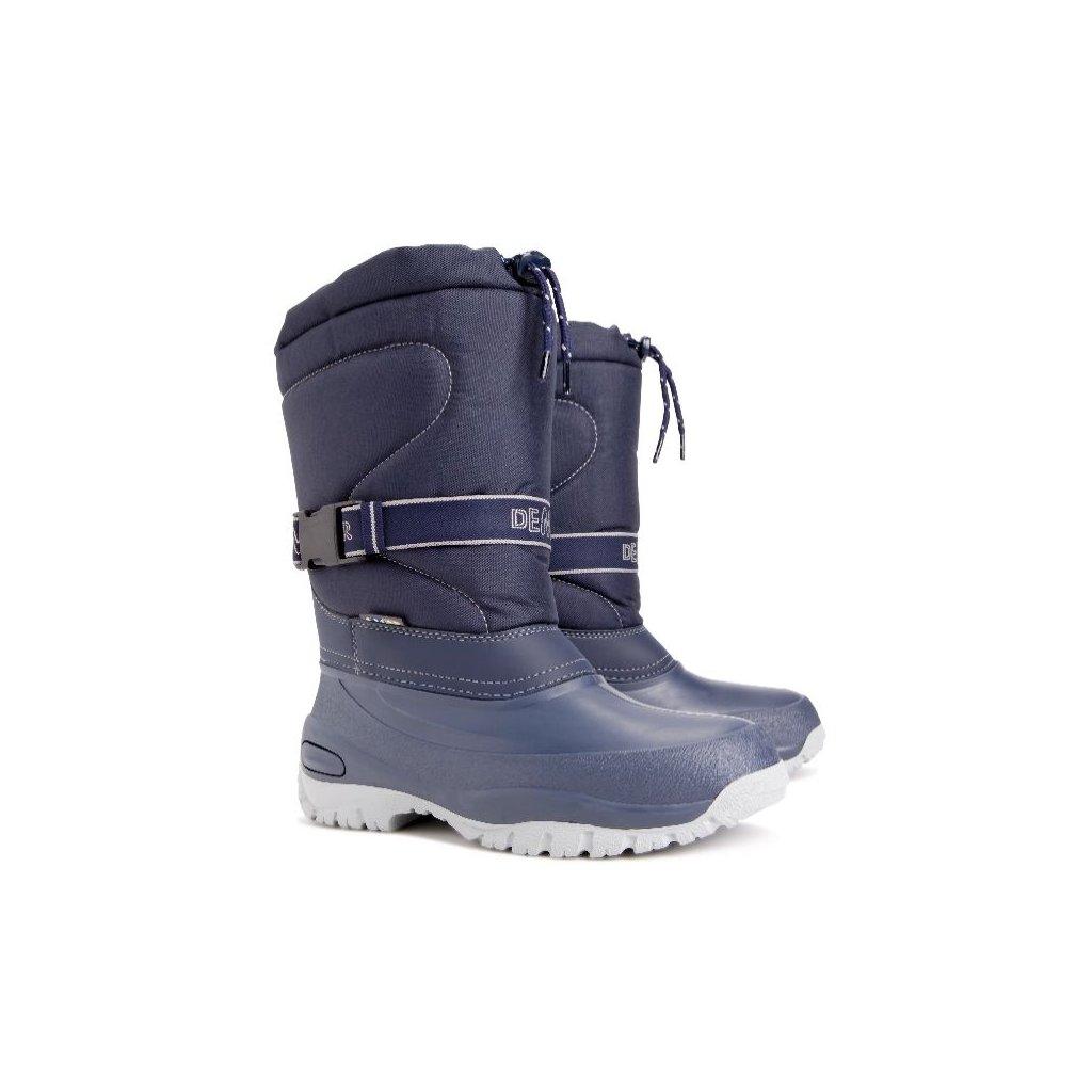 412 demar damska zimni obuv cross 1416 b modra