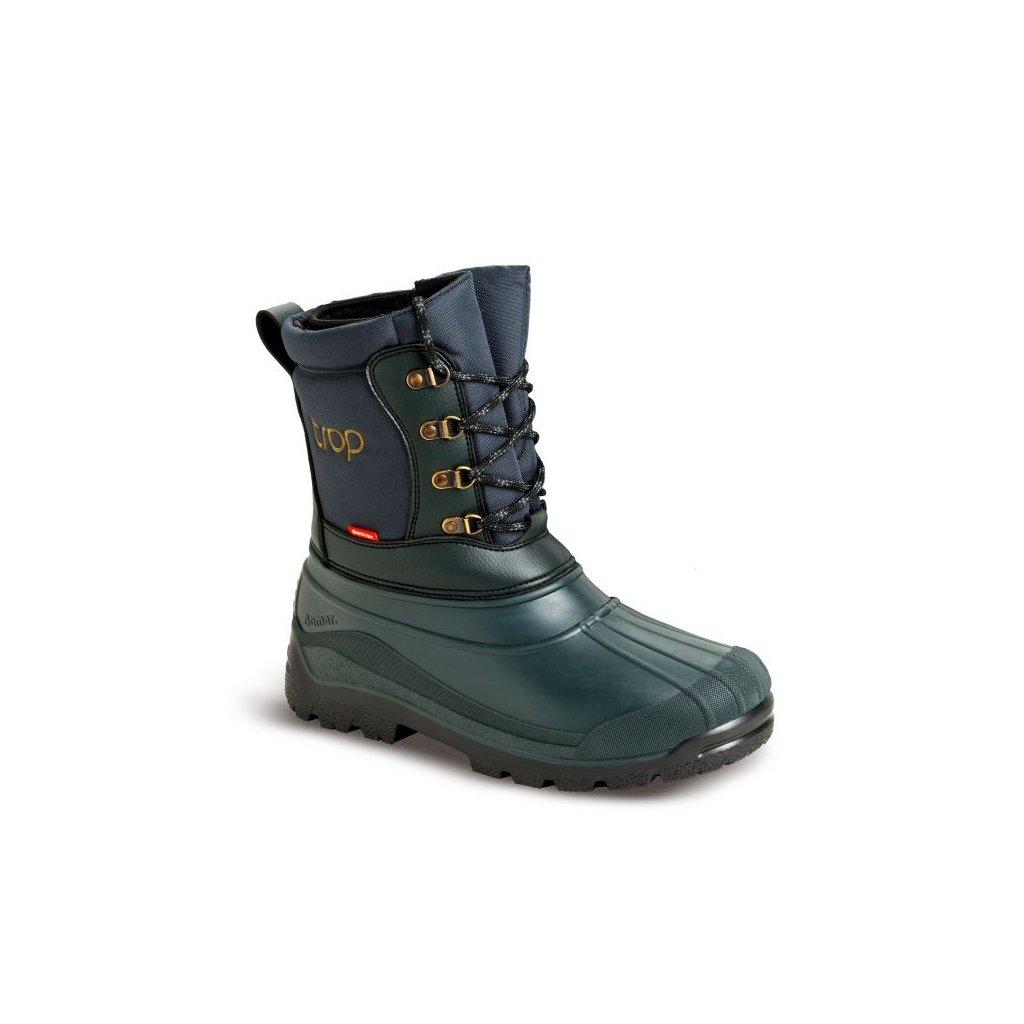 22 DEMAR Myslivecka zimni obuv TROP 2 zelena