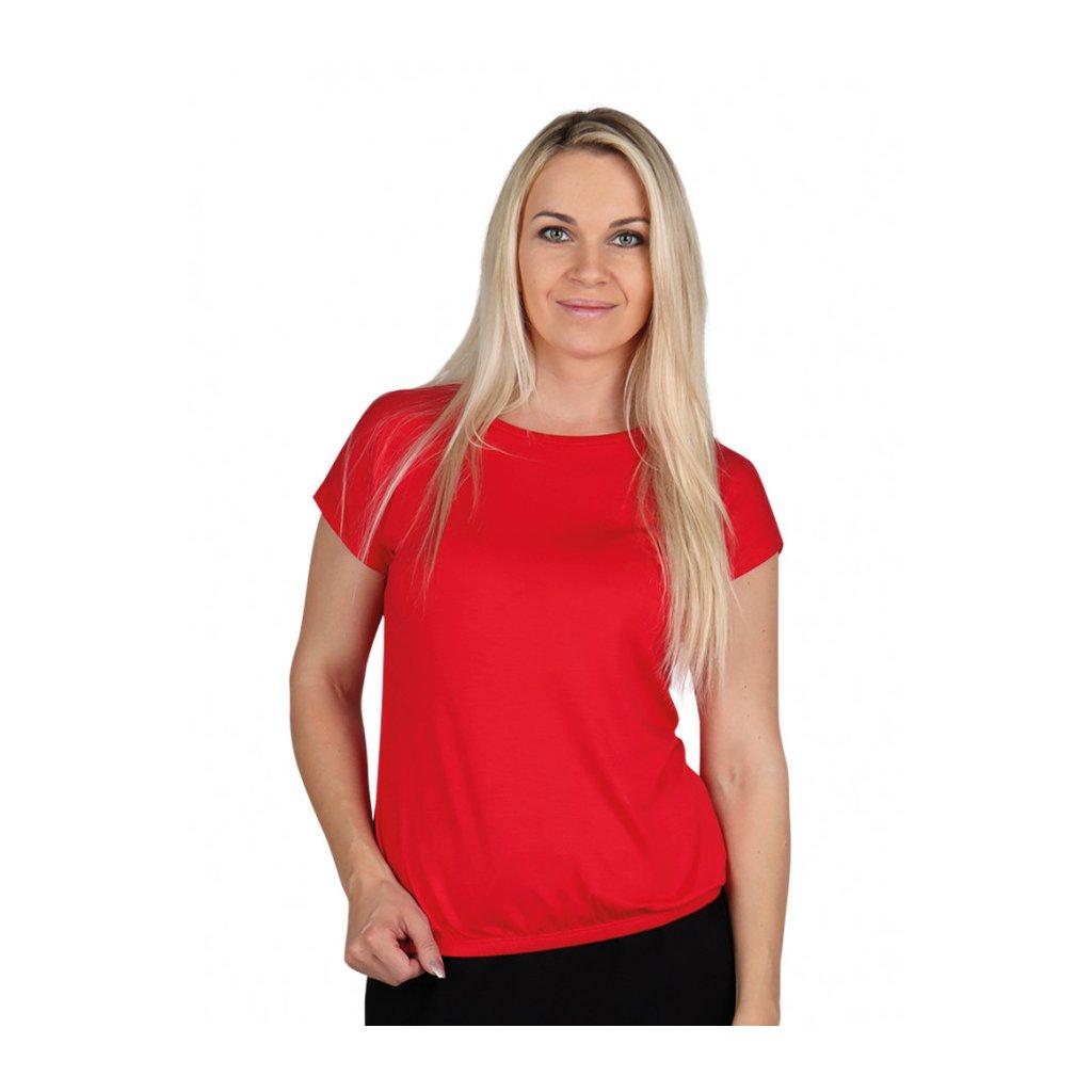 Evona- Dámské triko MARIKA červené
