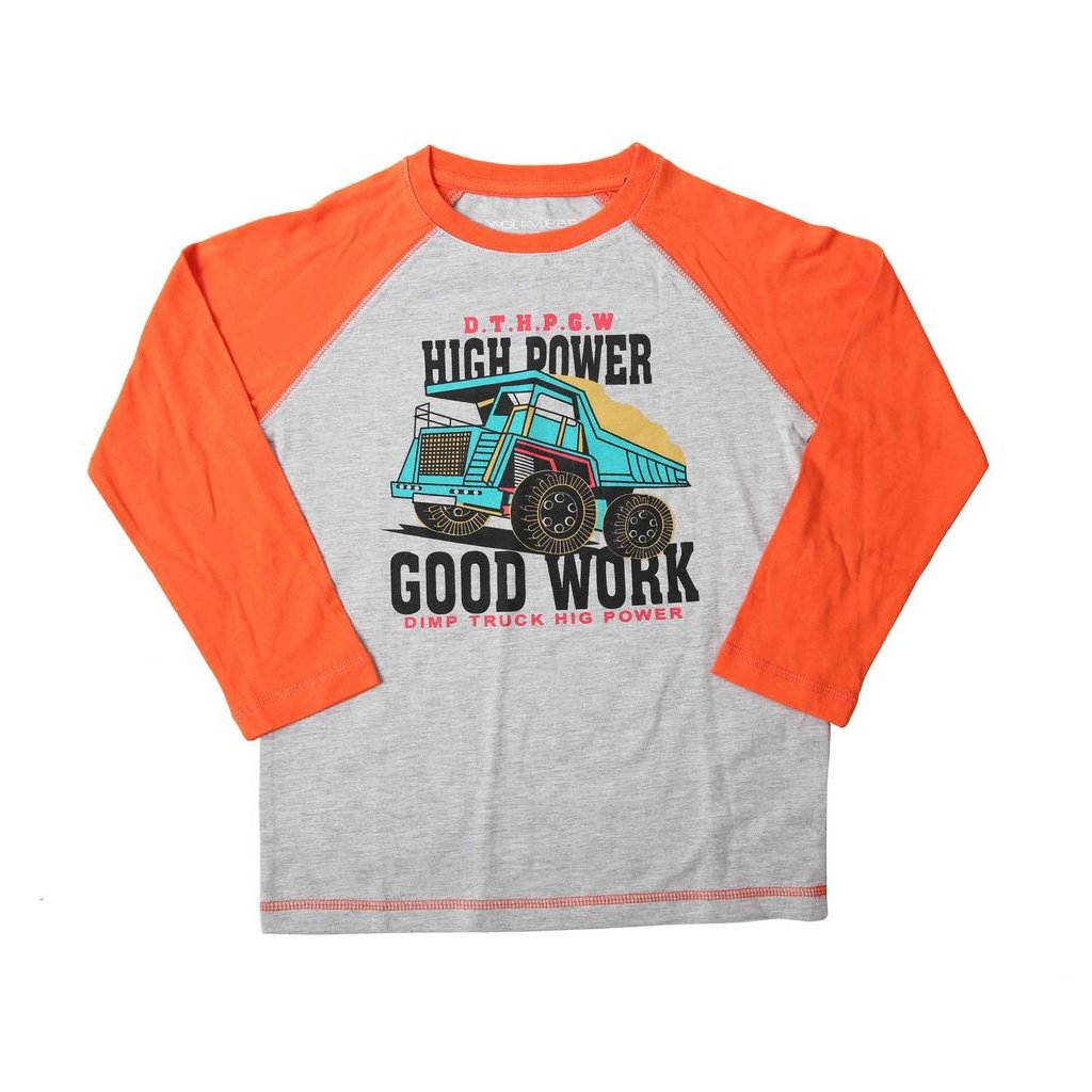 vyr 8315 chlapecke triko s2132A oranzove