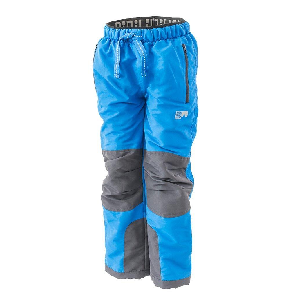 Kalhoty sportovní outdoorové, podšité fleezovou podšívkou, Pidilidi, PD1121-04, modrá
