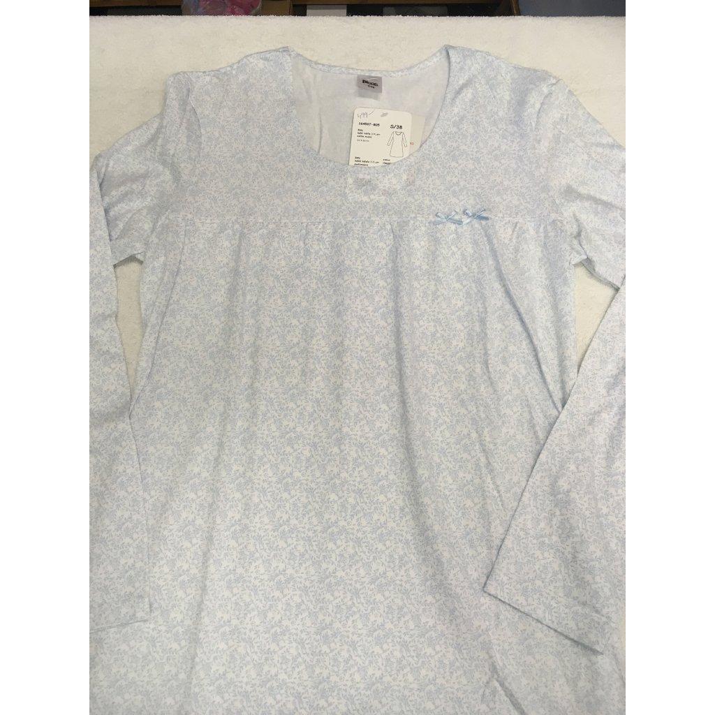 Dámská noční košile Pleas dlouhý rukáv