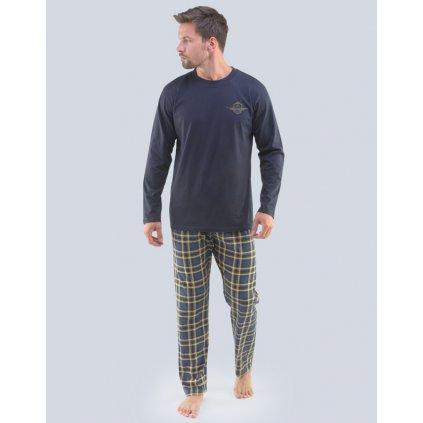 79091P pyžamo dlouhé pánské Gino