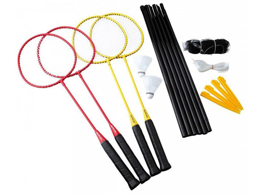 Badminton set Sunflex Challenge 4