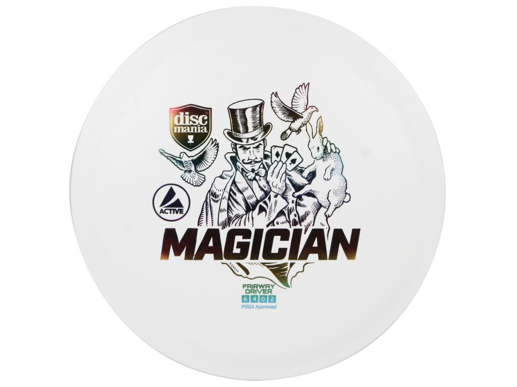 Discmania Magician bílá
