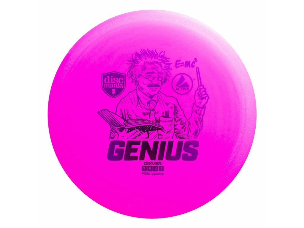 Discmania Genius růžová