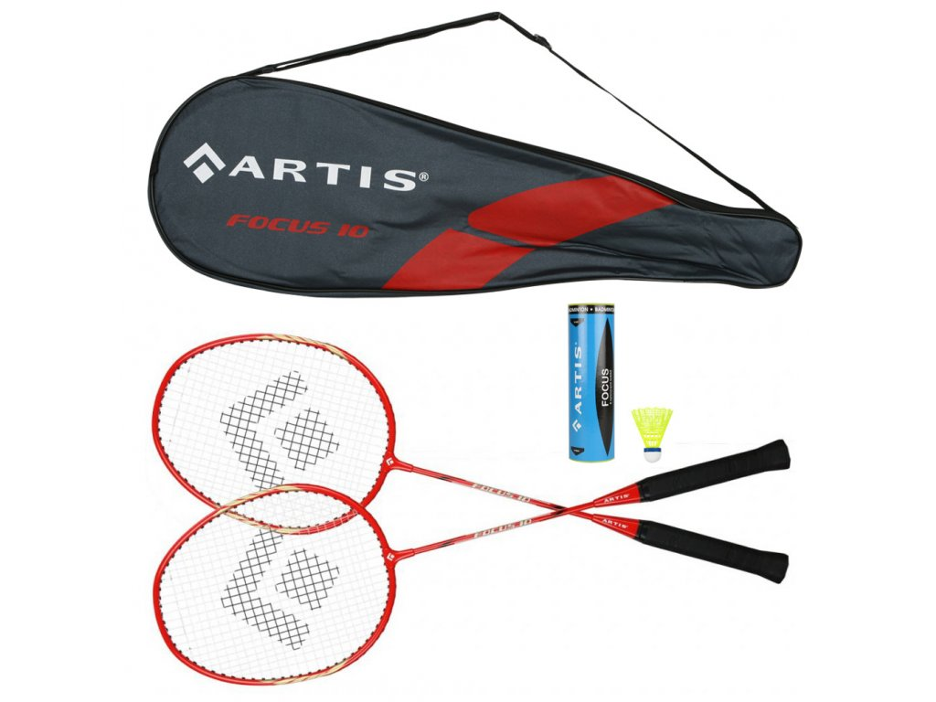 Badminton souprava ARTIS Focus + míčky