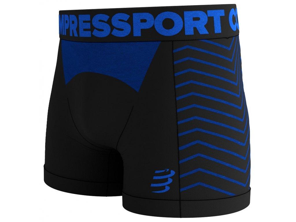 COMPRESSPORT Seamless Boxer M Black