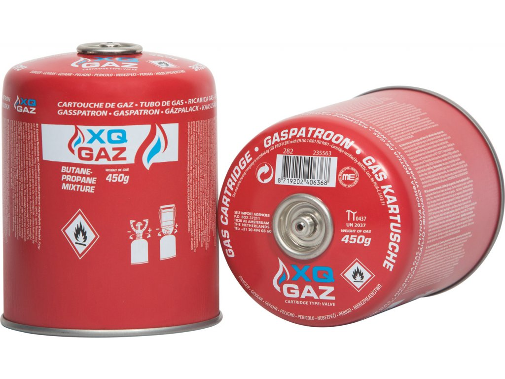 Kartuše XQ GAZ 450