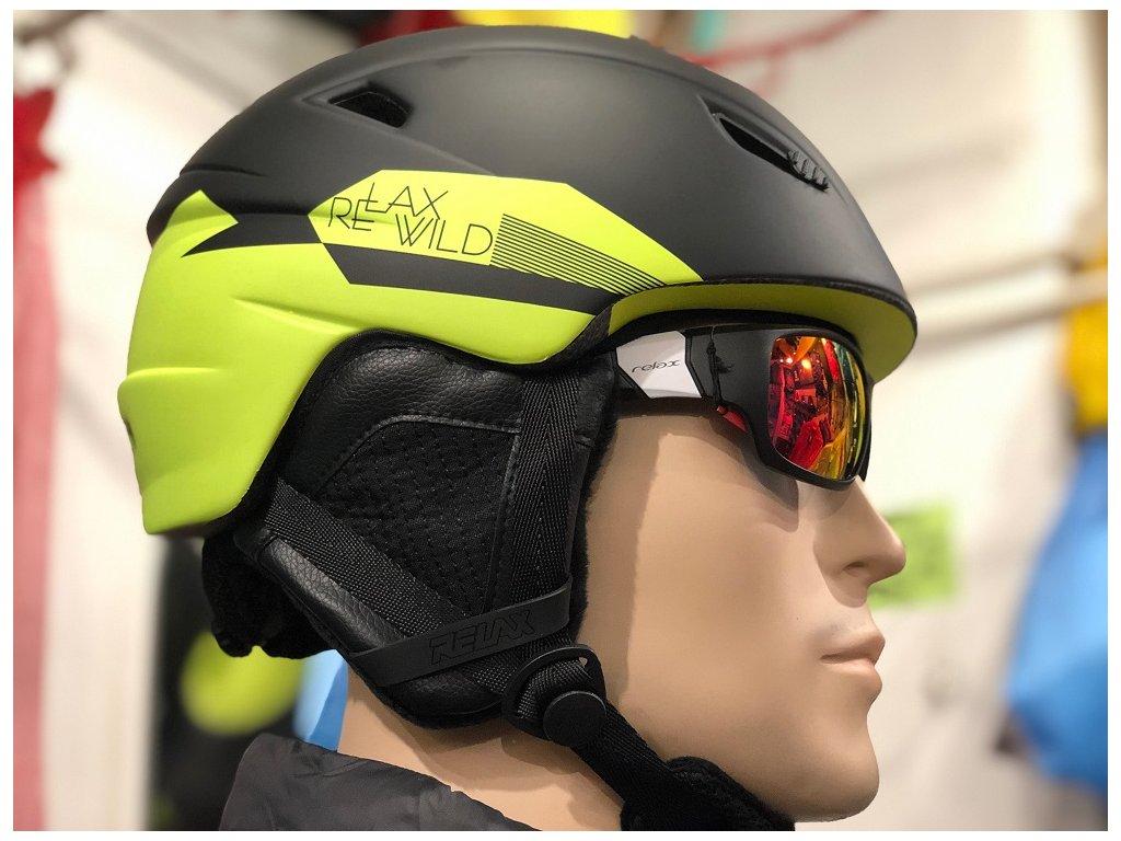 Helma na lyže RELAX WILD dvojbarevná