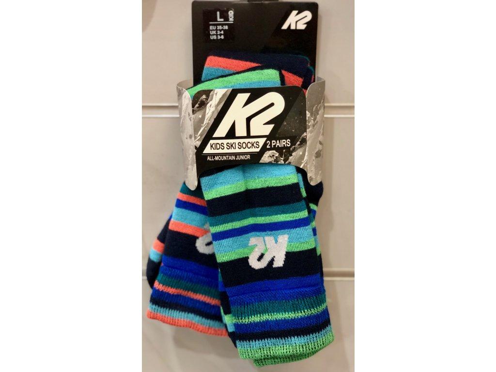 Podkolenky K2 All-Mountain Junior 2 pack