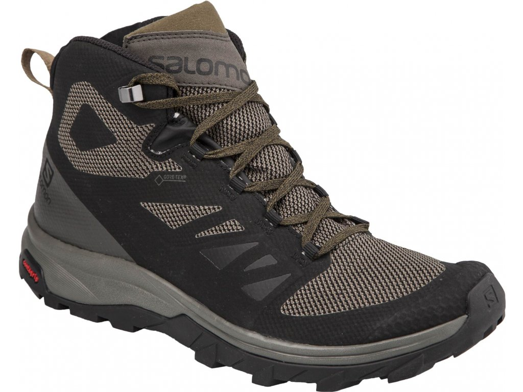 salomon l40476300 outline mid gtx 0