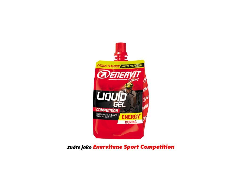 ENERVIT Liquid Gel Competition s kofeinem
