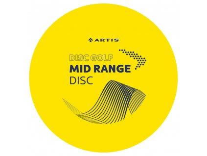 Artis Disc Golf Mid Range