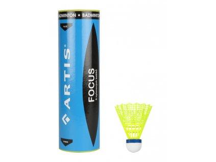 Badminton míčky ARTIS FOCUS 6 ks
