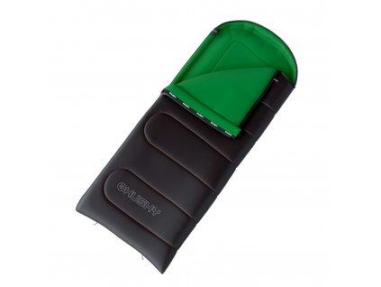 Spacák dekový Gala 0°C šedá/zelená