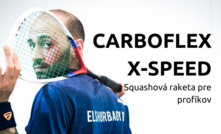 Carboflex X-Speed Squashová raketa