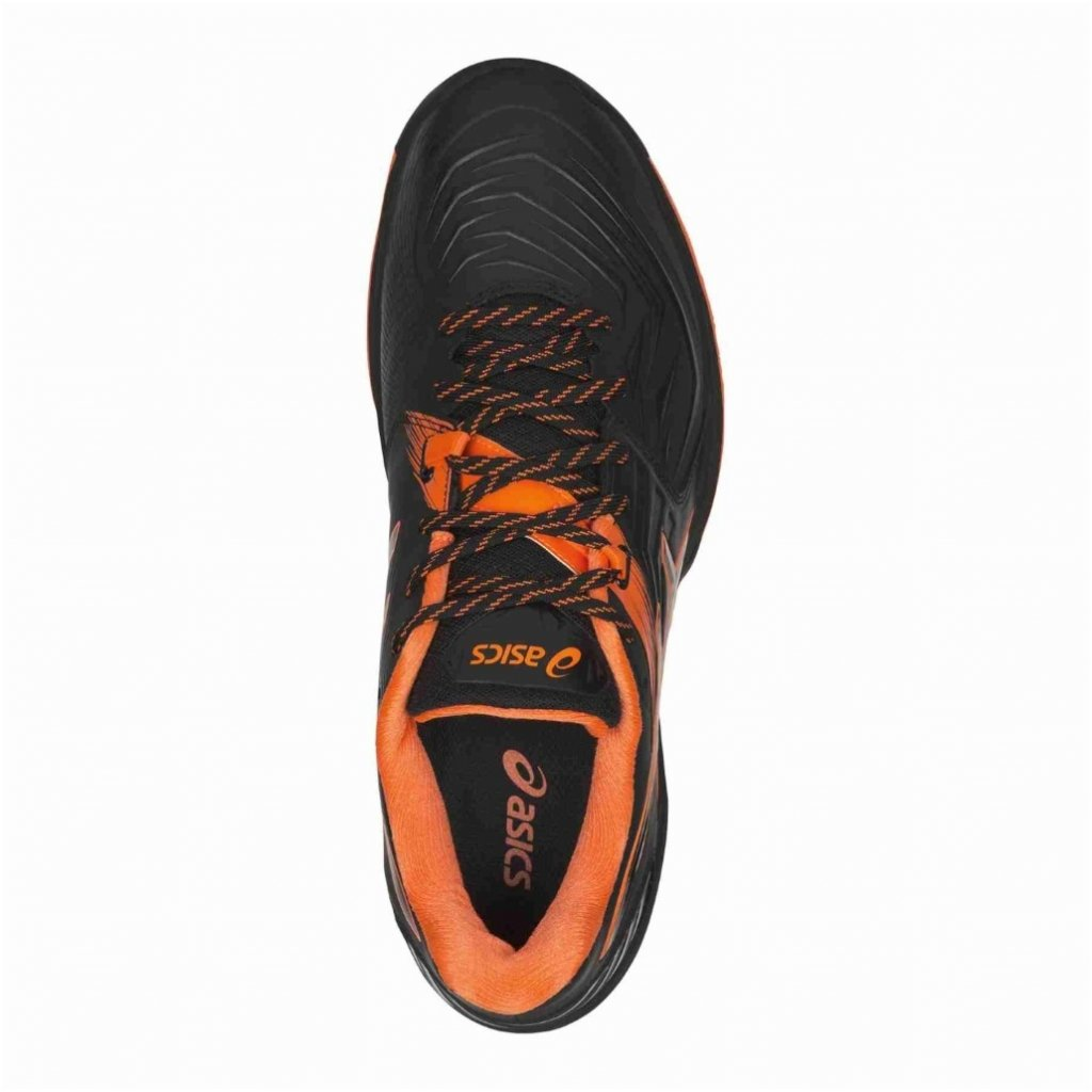 ASICS BLAST FF BLACK SHOCKING ORANGE