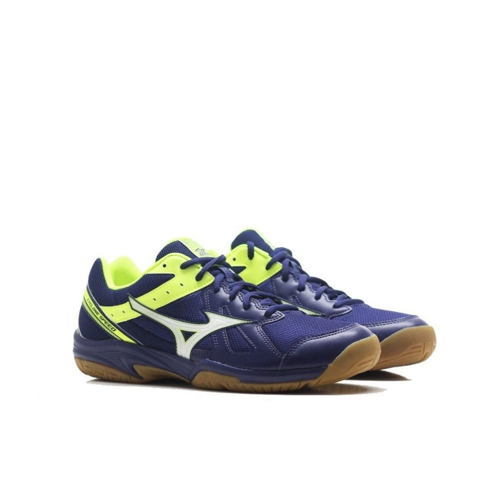 MIZUNO CYCLONE SPEED BLUE WHITE YELLOW 1