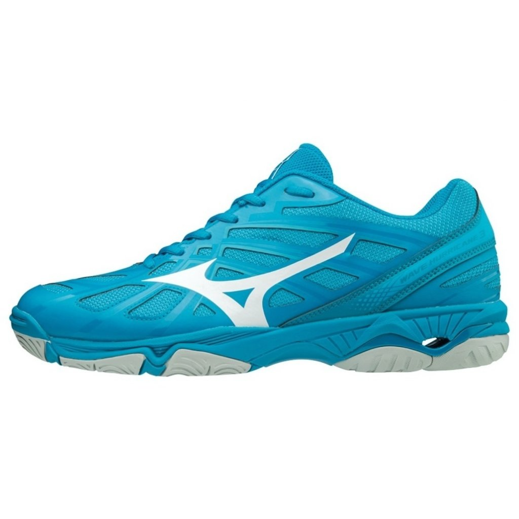 MIZUNO WAVE HURRICANE 3 BLUE WHITE
