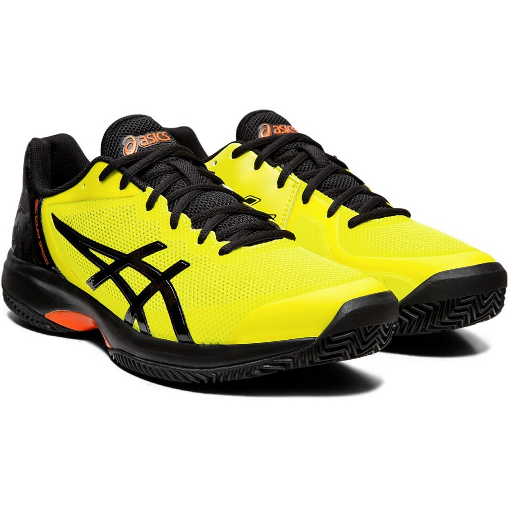 ASICS GEL COURT SPEED CLAY SOUR YUZU BLACK