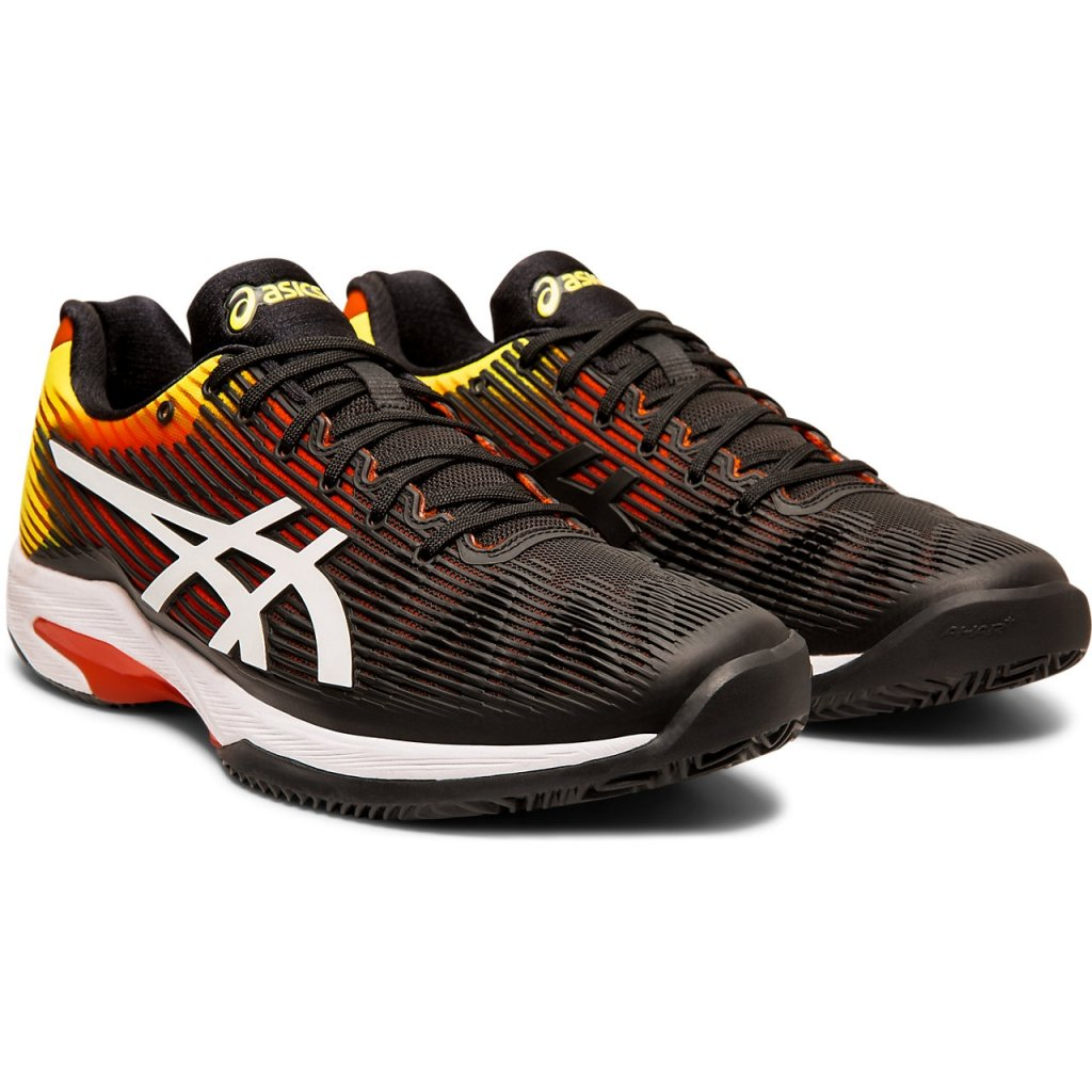 Pánska tenisová obuv ASICS SOLUTION SPEED FF CLAY KOI WHITE