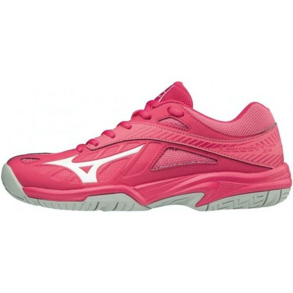 MIZUNO LIGHTNING STAR Z4 JR PINK WHITE