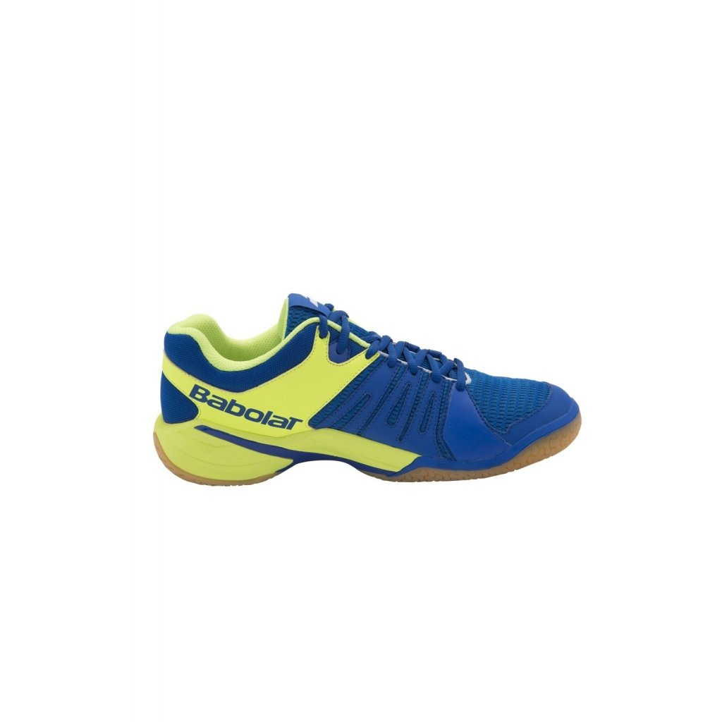 Bedmintonová obuv BABOLAT SHADOW SPIRIT MEN BLUE YELLOW