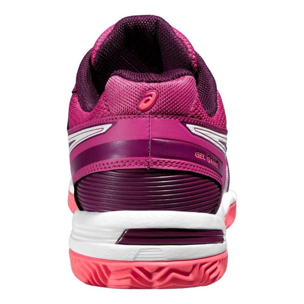 ASICS GEL GAME 5 CLAY BERRY WHITE PLUM