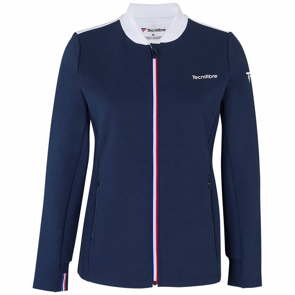 Dámska bunda Tecnifibre WARM UP JACKET 2021