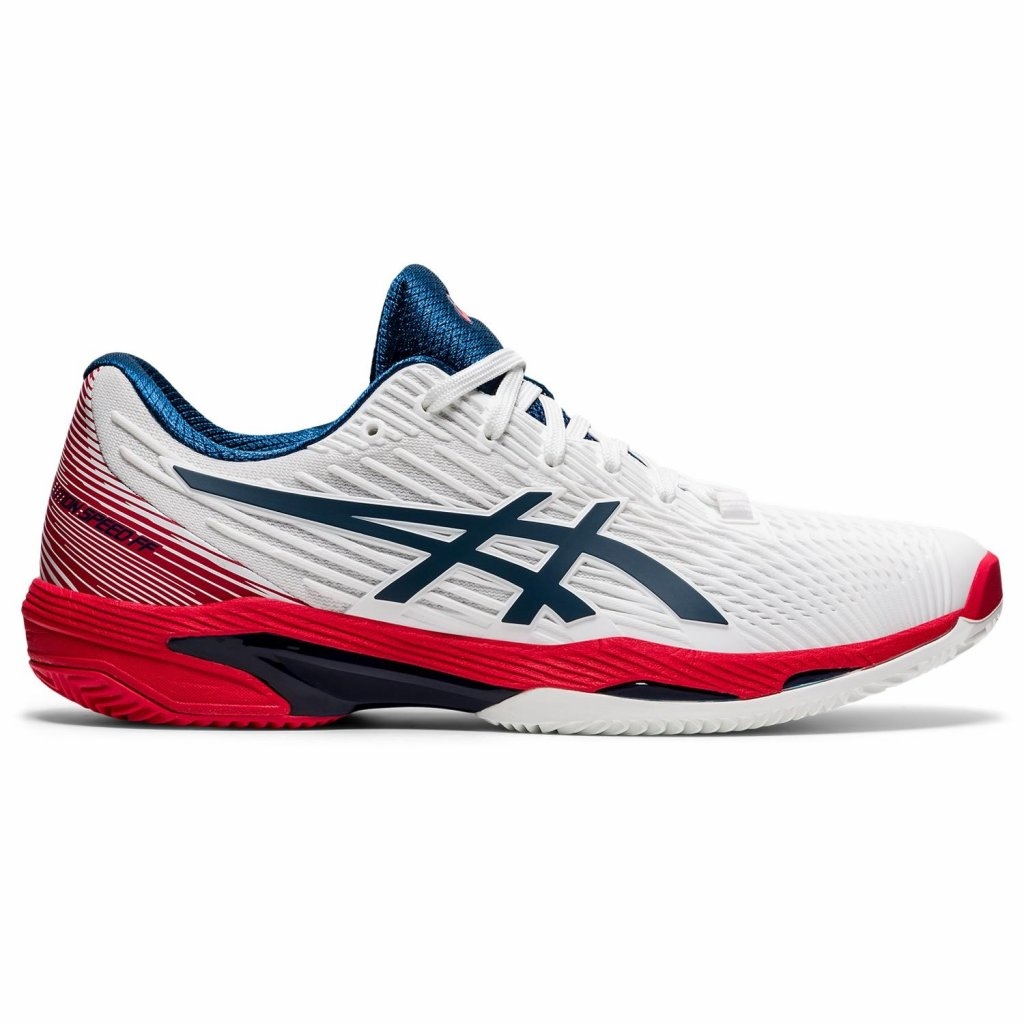 ASICS SOLUTION SPEED FF 2 Clay White